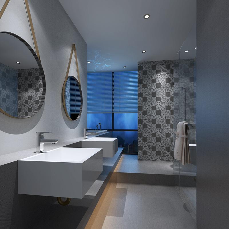 卫生间瓷砖效果