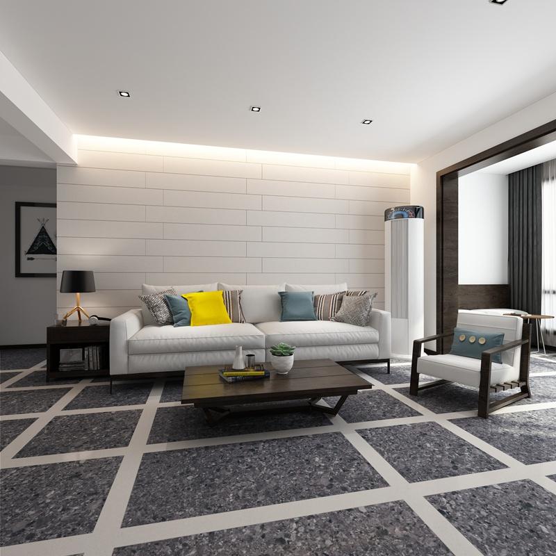 客厅瓷砖效果