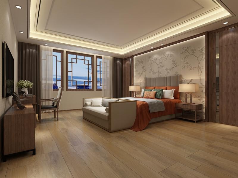 卧室瓷砖效果