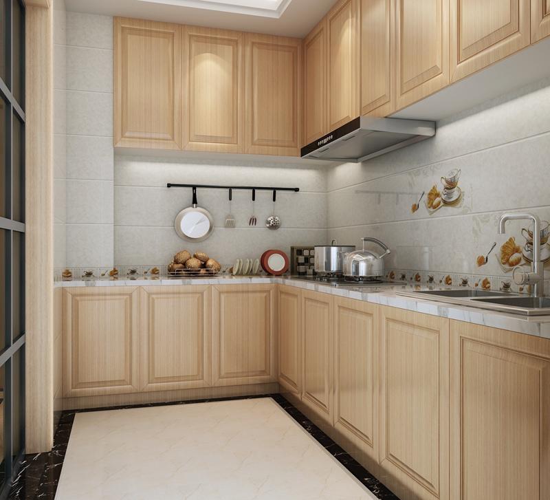 厨房瓷砖效果